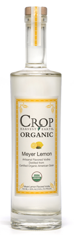 Crop Harvest Earth Vodka Meyer Lemon